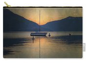 Sailing Boat At Night Carry-all Pouch