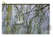 Sailing Boat Behind Tree Branches Carry-all Pouch