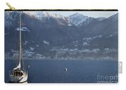 Sailing Boat On A Lake Carry-all Pouch