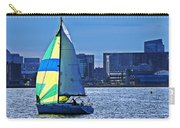 Sailing On Boston Harbor Carry-all Pouch