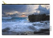Sailing On The Silk Blue Sea Carry-all Pouch