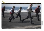 Sailors Clear The Landing Area Carry-all Pouch