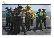 Sailors Fight A Simulated Fire Drill Carry-all Pouch