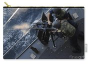 Sailors Fire A Dual-mounted M240 Carry-all Pouch