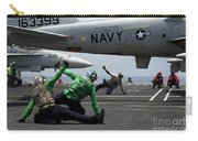 Sailors Give Launch Approval For An Carry-all Pouch