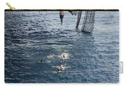 Sailors Jump To The Sea During A Swim Carry-all Pouch