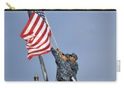 Sailors Lower The National Ensign Carry-all Pouch