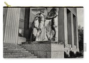 Saint Louis Soldiers Memorial Exterior Black And White Carry-all Pouch
