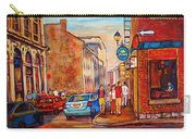 Saint Paul Street  Montreal Carry-all Pouch