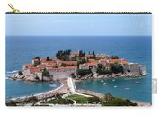 Saint Stephen In Montenegro Carry-all Pouch