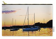 Salem Harbor Amber Sunset Carry-all Pouch
