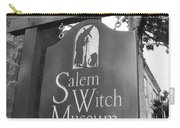 Salem Witch Museum Carry-all Pouch