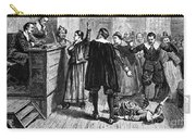 Salem Witch Trials, 1692-93 Carry-all Pouch by Photo Researchers