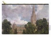 Salisbury Cathedral From The South West Carry-all Pouch
