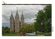 Salt Lake City Temple Grounds Carry-all Pouch