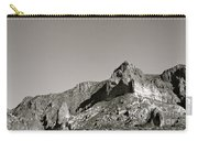 Salt River Black And White Carry-all Pouch