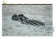 Salt Water Crocodile 3 Carry-all Pouch