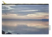 Salton Sea Sunset Carry-all Pouch
