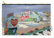 Salvation Mountain California 2 Carry-all Pouch