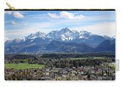 Salzburg Mountains Carry-all Pouch by Lauri Novak