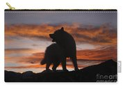 Samoyed At Sunset Carry-all Pouch