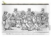Samuel L. Clemens Cartoon Carry-all Pouch