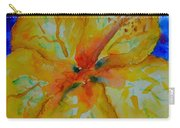 San Diego Hibiscus Study II Fireworks Carry-all Pouch