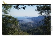 San Francisco As Seen Through The Redwoods On Mt Tamalpais Carry-all Pouch