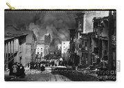 San Francisco Burning After 1906 Carry-all Pouch