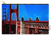 San Francisco Golden Gate Bridge Electrified Carry-all Pouch