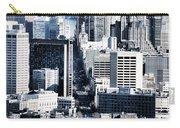 San Francisco Skyline-grunge Carry-all Pouch