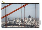San Francisco Through The Cables Carry-all Pouch