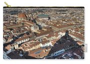 San Lorenzo And Duomo Shadow Florence Carry-all Pouch