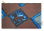 San Simeon Patio Tile Carry-all Pouch