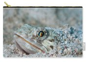 Sand Diver Hiding Below Sand Carry-all Pouch