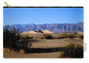 Sand Dunes In Death Valley Carry-all Pouch