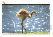 Sandhill Crane Daydreamer Carry-all Pouch