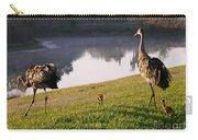 Sandhill Crane Family Fun Carry-all Pouch