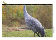 Sandhill In The Grass With Wildflowers Carry-all Pouch