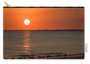 Sandpipers At Sundown Carry-all Pouch
