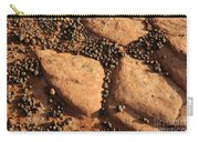 Sandstone And Pebbles Carry-all Pouch by Gary Whitton