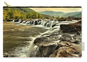 Sandstone Falls At Dusk Carry-all Pouch