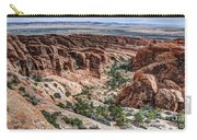 Sandstone Fins Of Arches National Park Carry-all Pouch