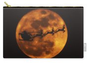 Santa Across The Sky Carry-all Pouch