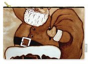 Santa Claus Gifts Original Coffee Painting Carry-all Pouch