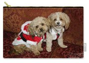 Santa Puppies Carry-all Pouch