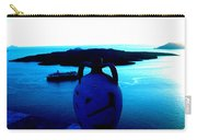 Santorini By Night Greece Carry-all Pouch