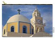 Santorini Church Carry-all Pouch