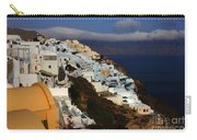 Santorini Cliff View Carry-all Pouch