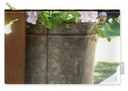 Sap Bucket Planter Carry-all Pouch